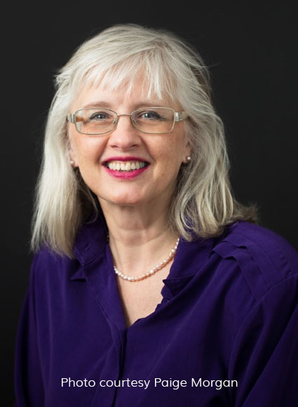 Esther Madsen, a choral conductor with over 40 years' experience, leads Festival Singers
